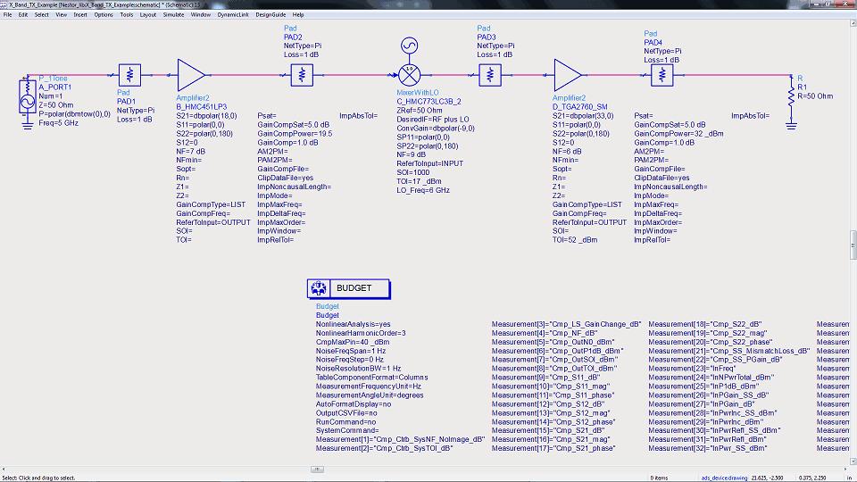 Advanced Design System (ADS) RF Simulator Examples - BBTLine